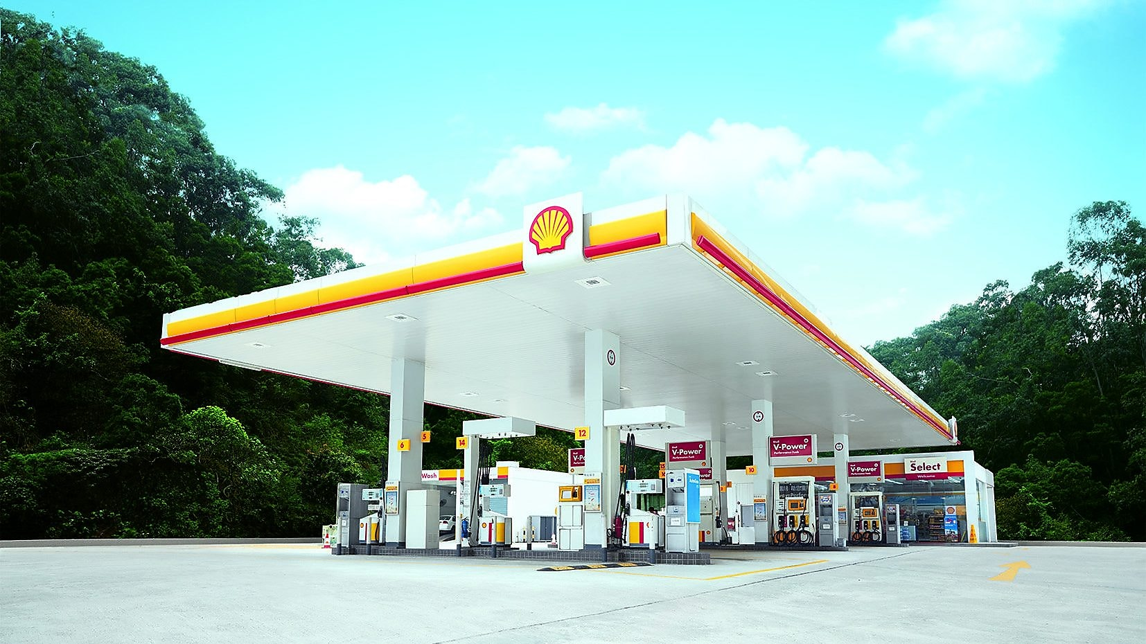 Shell in Hong Kong