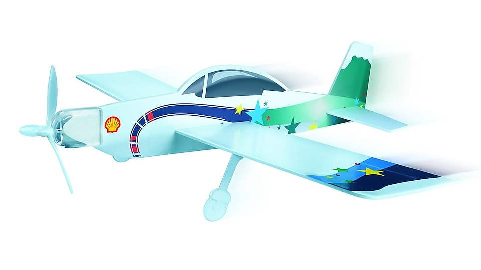 Inspiration model aircrafts at all Hong Kong and Macau Shell stations
