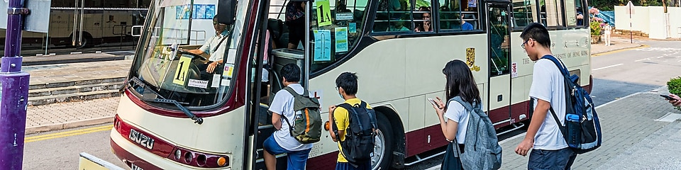 The entire CUHK campus bus fleet is now powered by Shell FuelSave B5 Diesel.
