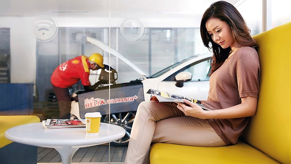 Learn More about Shops and Services in Shell Stations