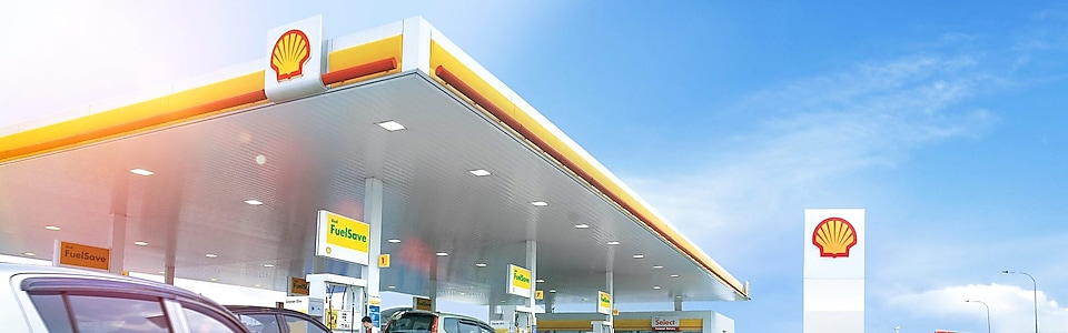 Shell FuelSave on forecourt
